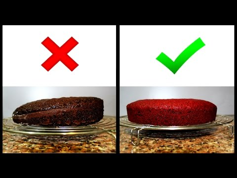 How to Bake Even & Flat Cake Layers