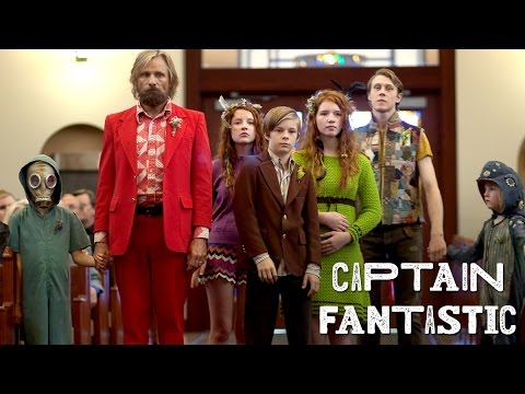 Captain Fantastic trailers