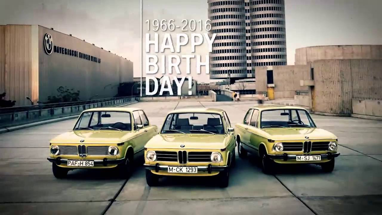 BMW Classic Presents: BMW 02 Series is 50 years old - YouTube