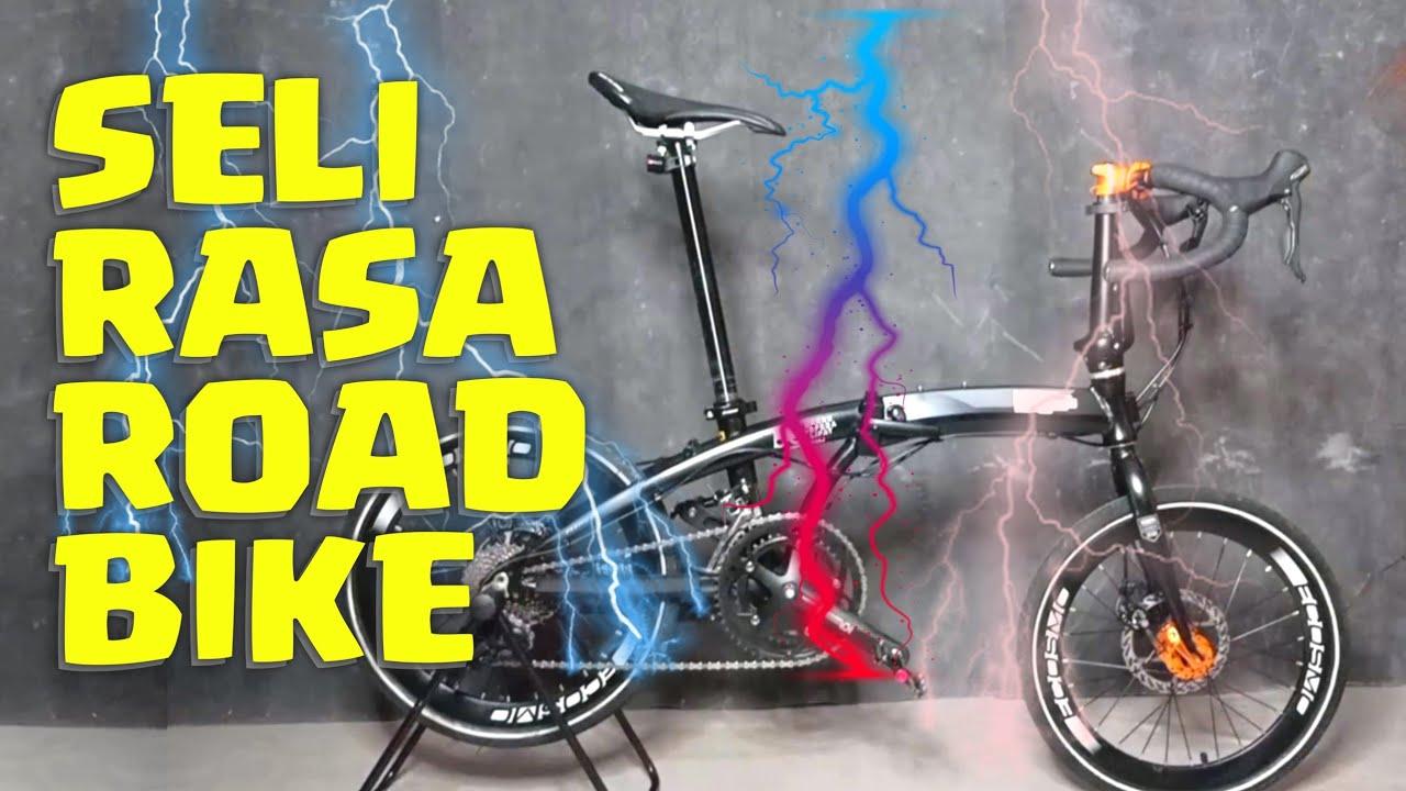 Sepeda Lipat Upgrade Road Bike Youtube