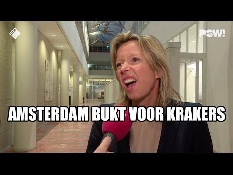 Amsterdam bukt voor krakers