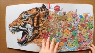 Art Therapy Animorphia Buku Mewarnai Int L Bestseller Gramedia