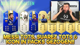 OMG!! MESSI TOTS 99 & ICON IN WEEKEND LEAGUE REWARDS 😍😍 DIE BESTEN FUT CHAMPIONS PACKS