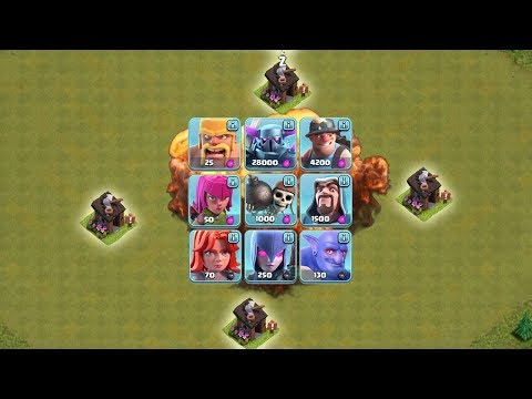 ALLE TRUPPEN vs RIESEN BAUHÜTTE! || CLASH OF CLANS || Let's Play CoC [Deutsch German]
