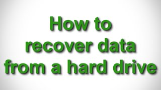How to recover lost data from a HDD with EaseUS Data Recovery