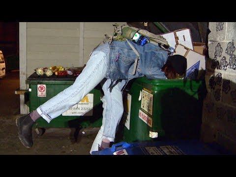 Dumpster dive reveals 'indescribable' food waste