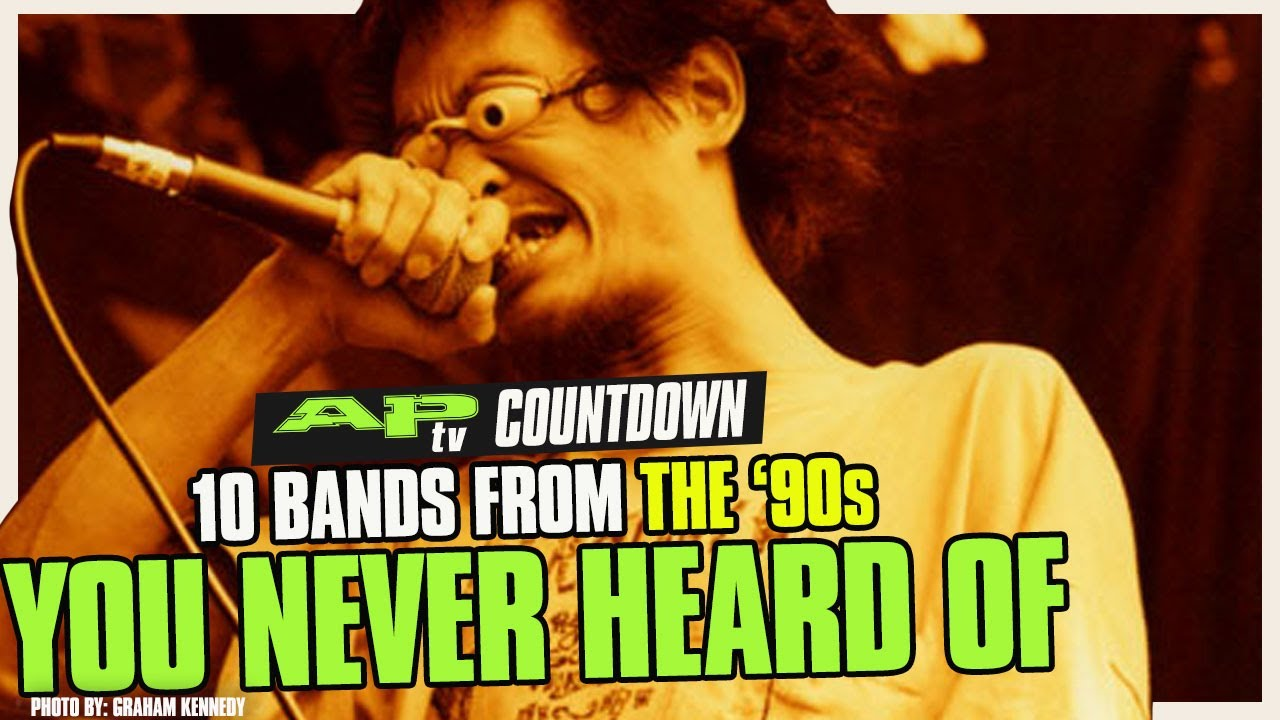 10 Bands From The '90s You Never Heard Of and it's a Damned Shame