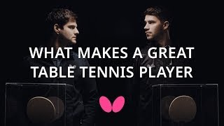 What Makes A Great Table Tennis Player