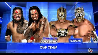 WWE-2K16 - The Usos vs The Lucha Dragons Tag Team Match| SmackDown 2016