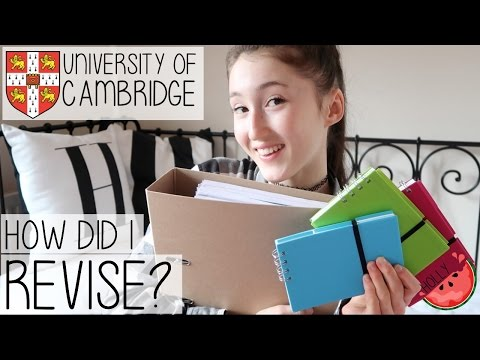 REVISION TIPS, TRICKS + ADVICE FOR EXAMS FROM A CAMBRIDGE UNIVERSITY STUDENT   GCSE + A-LEVELS