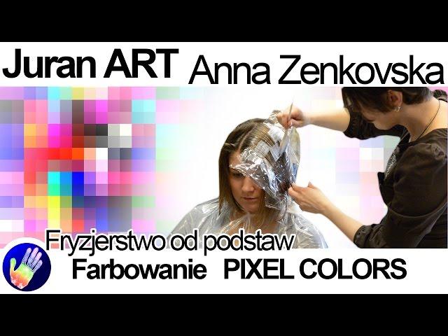 Farbowanie w?osów Pixel colors - Awangardowe farbowanie w?osów.