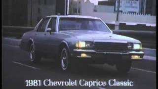 1981 Chevrolet Caprice Classic Commercial