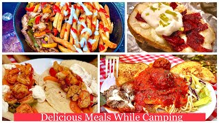 Camping Food Ideas | Camṗing Hacks 🍽| Quick & Easy 👌Delicious Meals | 🍝 Outdoor Cooking | CWS