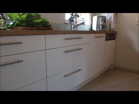 Einbauküche - Fronten weiß matt