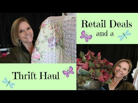 Thrift Haul and Retail Deals