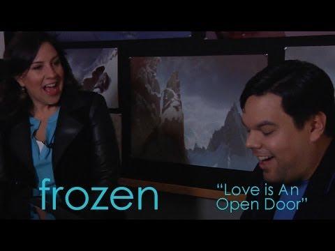"""DP/30 Short End: Frozen - The Lopezes sing """"Love Is An Open Door"""""""