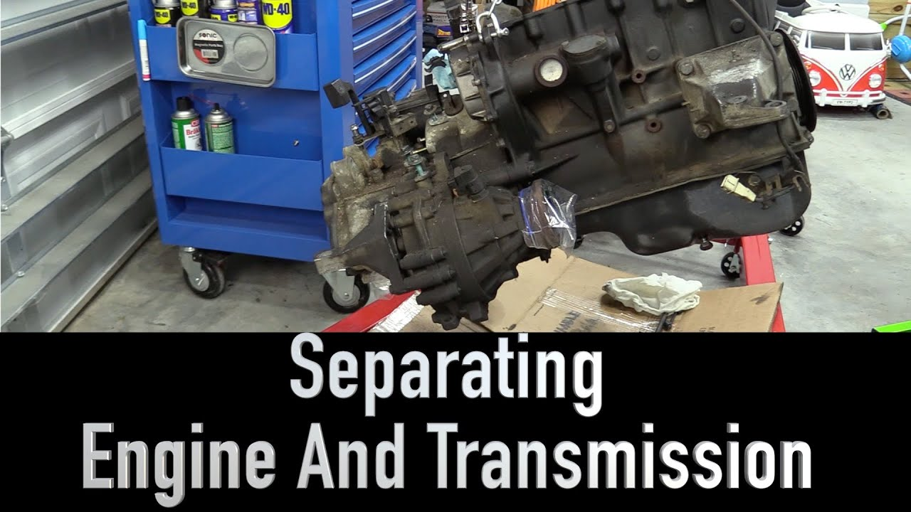 Removing Transmission From The Vr6 White Wookie Youtube Engine Diagram Mount