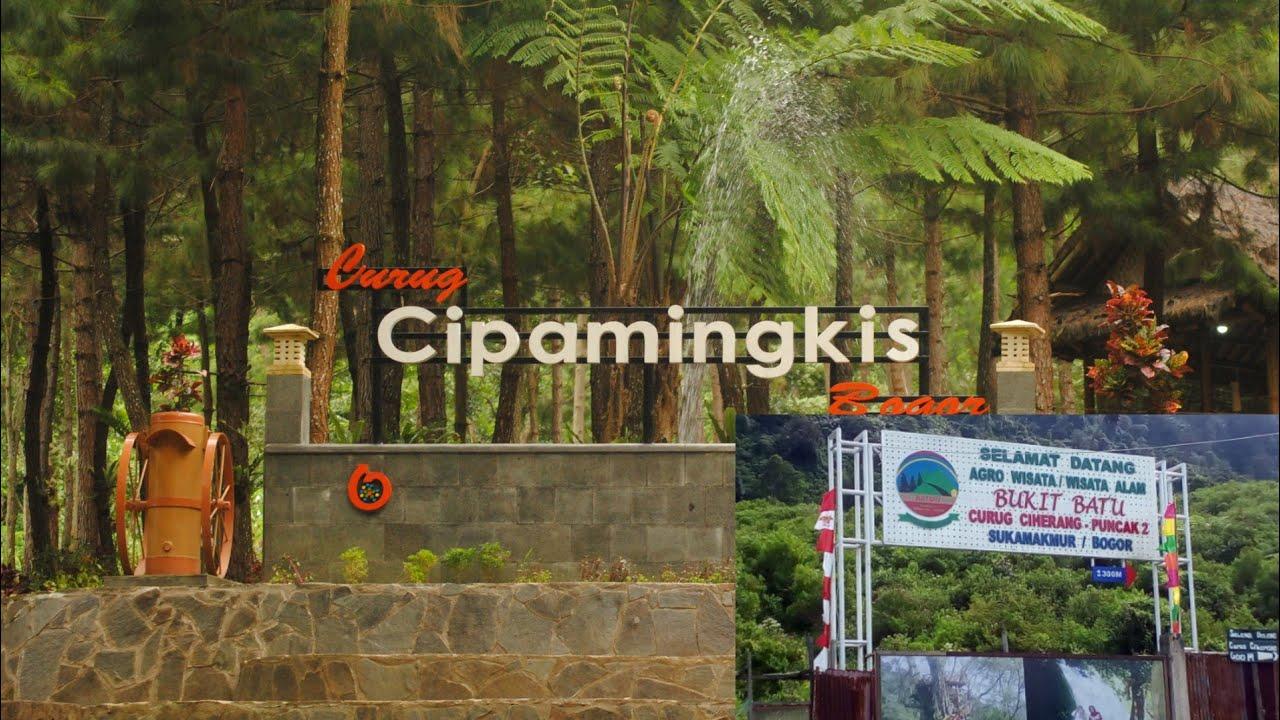 Wisata Curug Ciherang Cipamingkis Desa Wargajaya Youtube