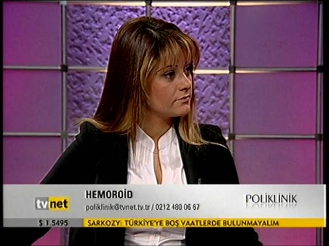 Prof. Dr. Hasan Taşçı - Hemoroid - TVNET - Poliklinik