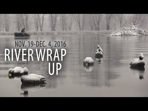 Mississippi River Wrap Up - Dec. 4 - Nomad Chronicles Waterfowl TV - S2.E8.