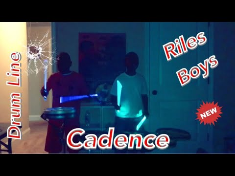 The Riles Boys Play A  Drum Line Cadence