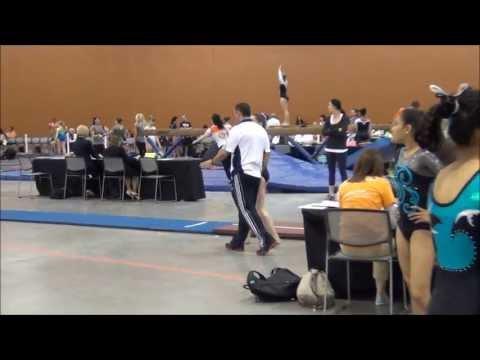 Kate Exley - Level 8 - 2013 Regionals - San Mateo Gymnastics - Vault - 9.6