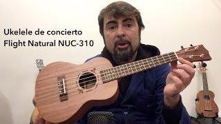 Ukelele de concierto Flight Natural NUC-310