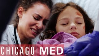 Sarah Reese Breaks A Little Girl's Ribs To Save Her Life | Chicago Med