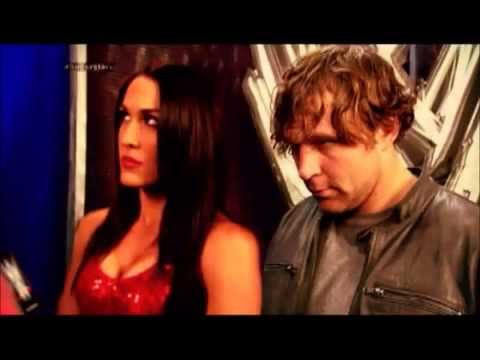 Dean Ambrose Brie Bella You Believed In Me Loyalty And