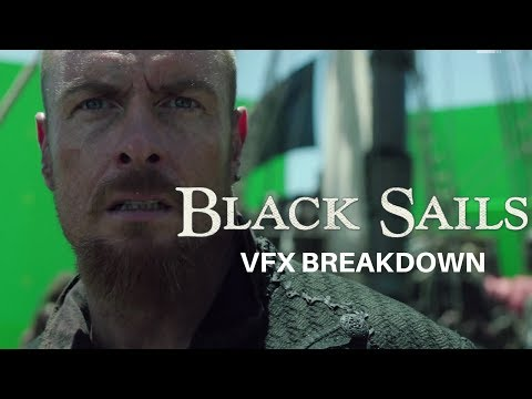 BLACK SAILS | VFX BREAKDOWN 2017