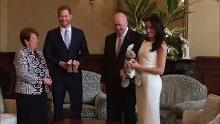 Harry & Meghan Welcomed To Admirality House & Receives First Baby Gift!