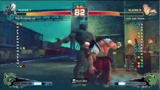 .:: Super Street Fighter Iv Ae 2k12 ::. The Problem Xx [seth] Vs  One Eye Boxer [ryu]
