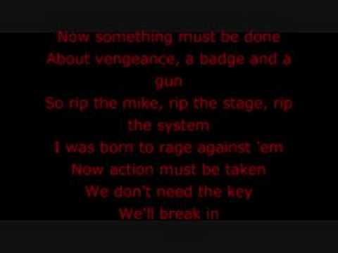 Lyrics for Know Your Enemy by Rage Against the Machine ...