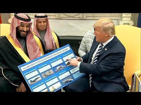 ترامب وبن سلمان يثنيان على حجم التبادل الضخم بين الولايات المتحدة والسعودية  …  - نشر قبل 13 دقيقة