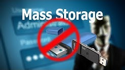How to enable or disable USB Drives or Mass Storage Devices in Windows 10/8/7