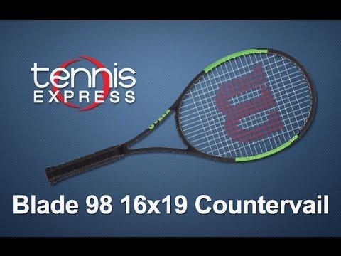 Wilson Blade 98 16x19 Countervail Tennis Racquet Review | Tennis Express