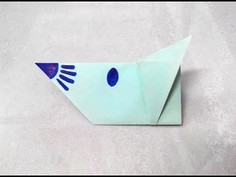 Rat Made Of Paper