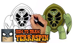 How to Draw Terraspin | Ben 10