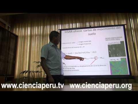 Medida de deformación de volcán Colima por interferometría radar satelital