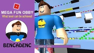 MEGA FUN OBBY | ROBLOX ADVENTURE GAME | THE HIGHEST LEVELS WITH BIGGER CHALLENGES CROSSED