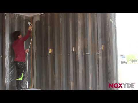 컨테이너 녹방지 페인트 녹사이드(NOXYDE) 스프