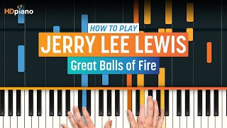 ALL PARTS FREE – How To Play Great Balls of Fire by Jerry Lee Lewis | HDpiano Piano Tutorial