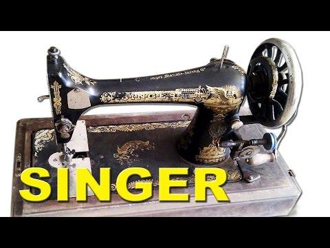 Швейная Машинка Singer - с Уникальным Серийным Номером - 1 000000 $