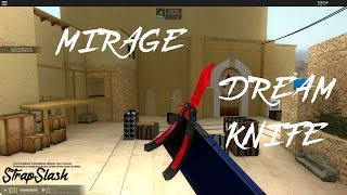 Mirage! + Dream Knife! - Counter Blox Roblox Offensive