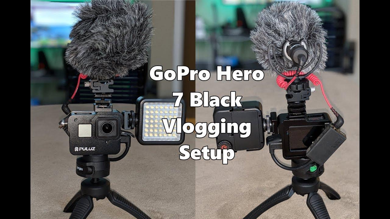 Gopro Hero 7 Black Mic Setup