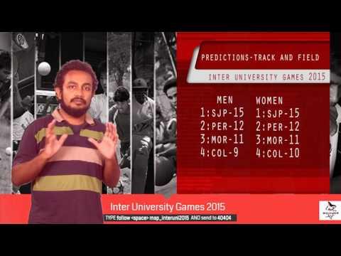 Inter University Games 2015