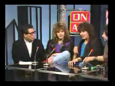 BON JOVI interview 1985