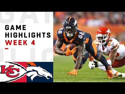 Chiefs vs. Broncos Week 4 Highlights   NFL 2018