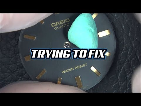 Trying To FIX: CASIO Quartz WATCH With Miyota Movement