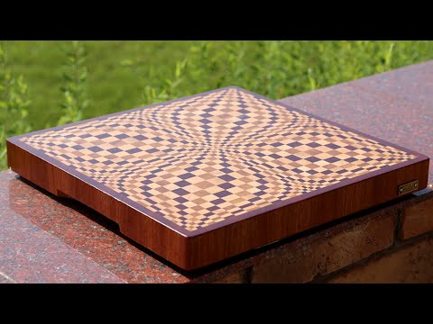 making a multicolor butterfly 3d end grain cutting board. Black Bedroom Furniture Sets. Home Design Ideas